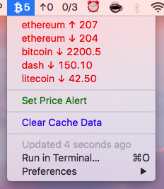 Image preview of Coin Alert plugin.