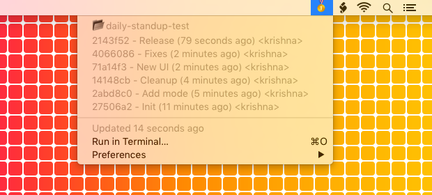 Image preview of Daily Standup plugin.