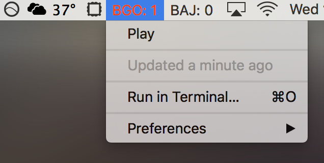 Image preview of BGO plugin.