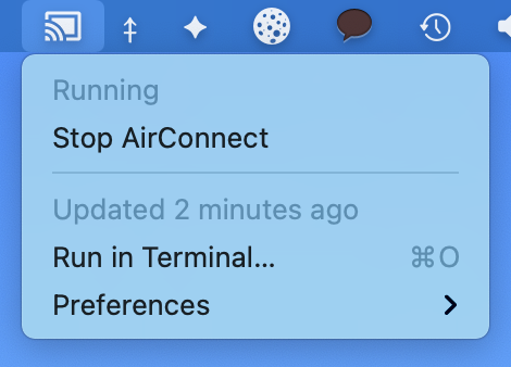 Image preview of AirConnect plugin.