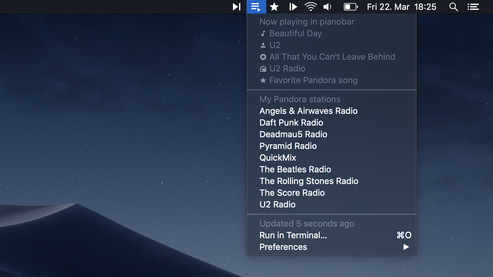Image preview of Music Controls - Previous Track Button plugin.