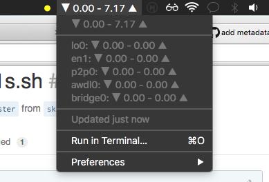 Image preview of Bandwidth plugin.