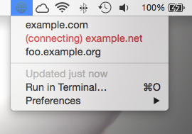 Image preview of SSH Tunnel plugin.