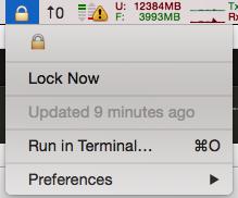 Image preview of Screen Lock plugin.