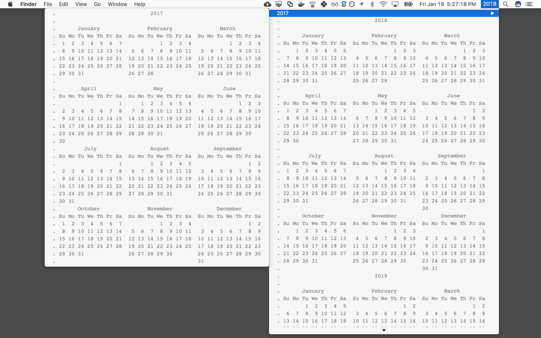 Image preview of cal plugin.