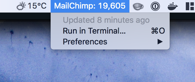 Image preview of MailChimp Subscribers plugin.